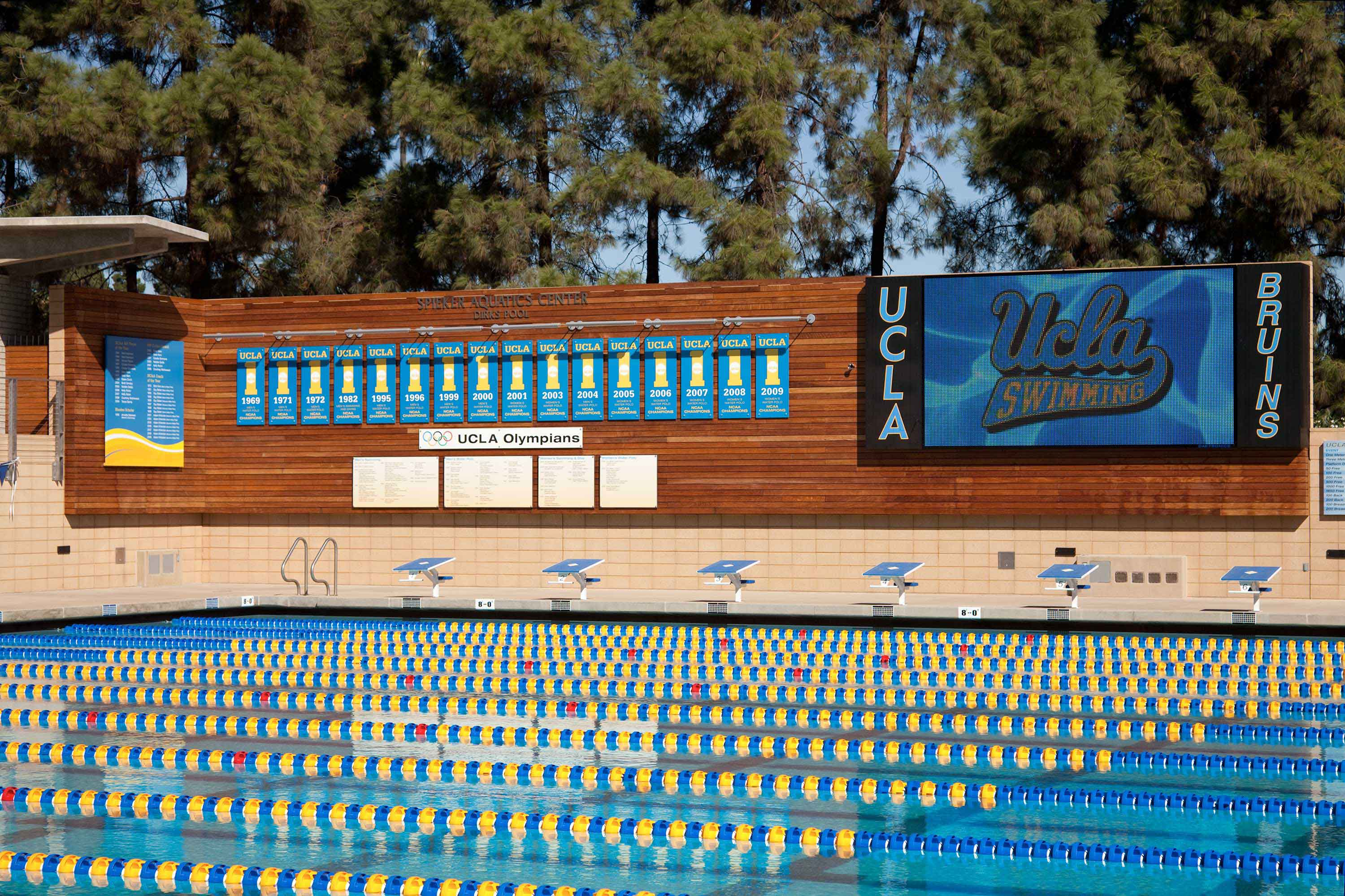 UCLA Spieker Aquatic Center