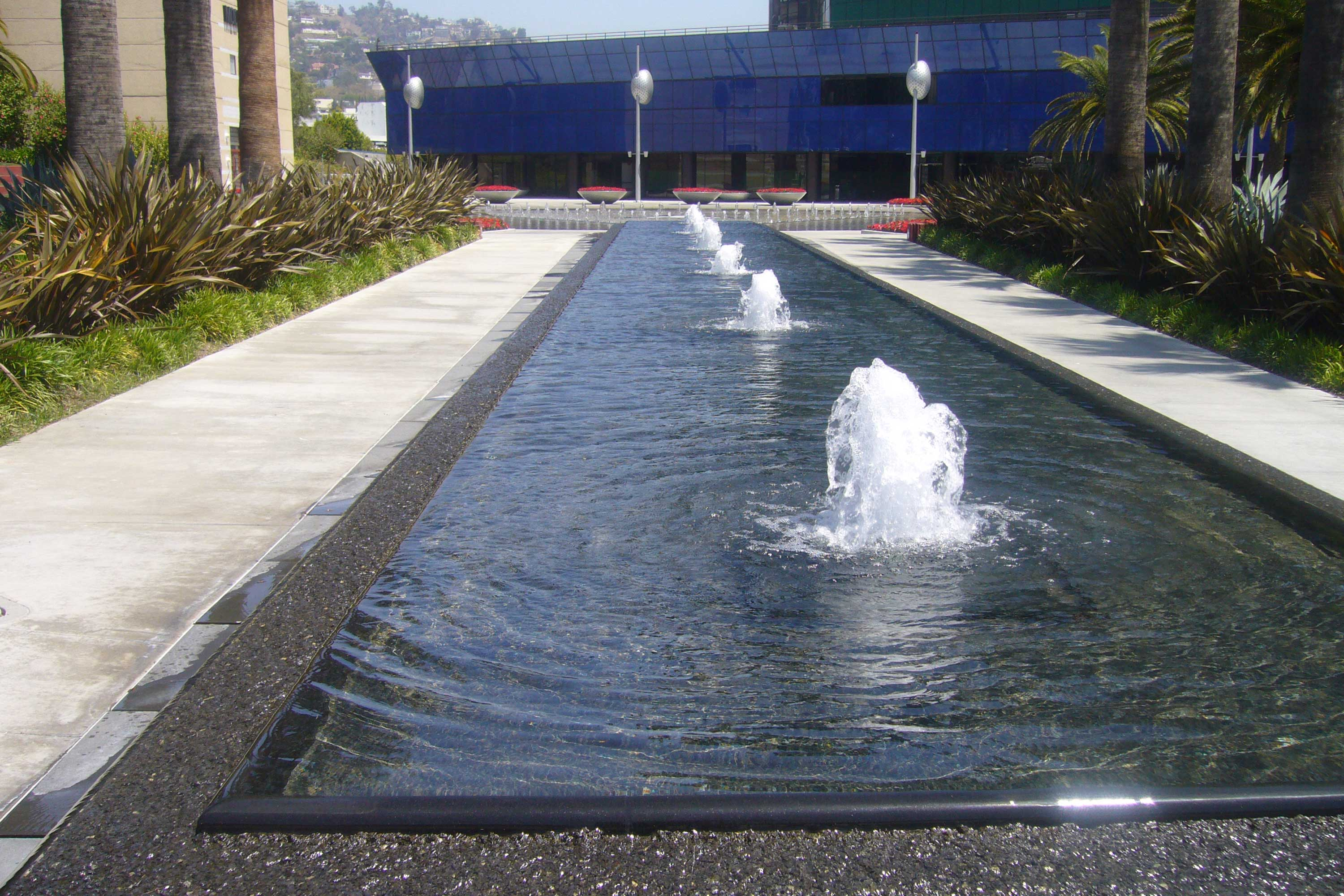 Pacific Design Center Fountain